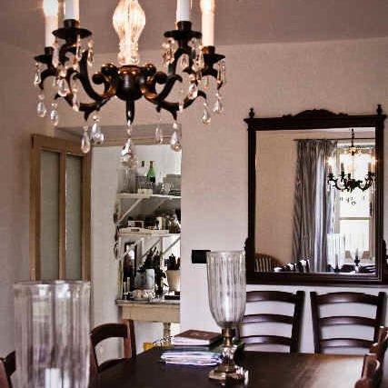 Stue og spisestue i serrapiana